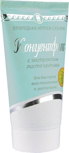 Концентрат для волос с экстрактом листьев крапивы БИОЛИТ