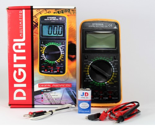 Мультиметр цифровой DT 9208A + Термопара, фото 2