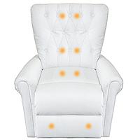 Відпочинкове крісло з масажем та обігрівом