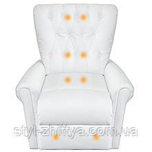 Крісло Відпочинкове з масажем та обігрівом