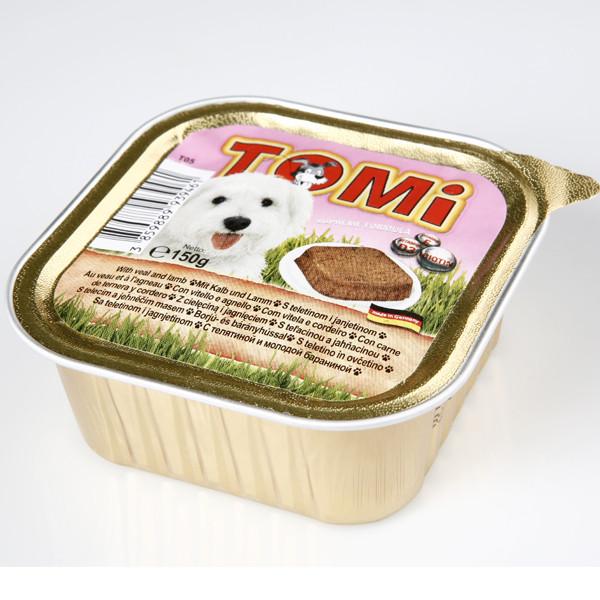 TOMi veal lamb МЯСО ЯГНЕНОК консервы для собак, паштет