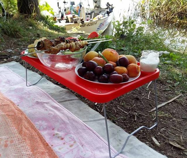 аксессуары fasten borika  - комплект стол для лодки