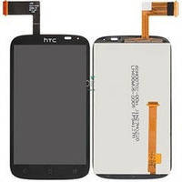 Дисплей (экран) + сенсор (тач скрин) HTC Desire X T328e black (оригинал)