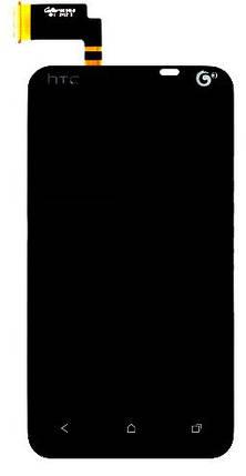 Модуль HTC Desire VT T328t black (оригинал) дисплей экран, сенсор тач скрин для телефона смартфона, фото 2