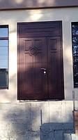 Входные двери под заказ с фрамугой с Виноритом, фото 1