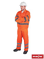 Комплект (костюм) REIS рабочий сигнальный UL P (спецодежда)