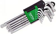 Набор Г-обр. ключей TORX T10-T50  9 ед. длинных с отверстием и шаром
