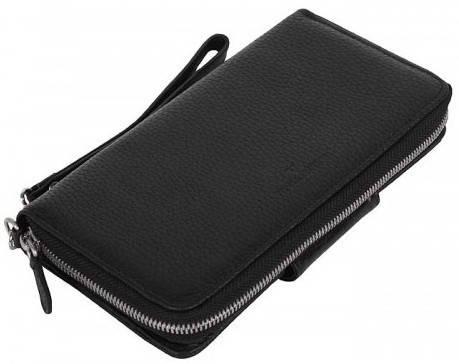 Красивый женский кошелек Vip Collection 1514A flat черный