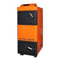 Пиролизный твердотопливный котел БТС-75 Премиум