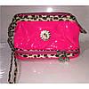 Косметичка женская розовая двойное дно, коллекция 2016