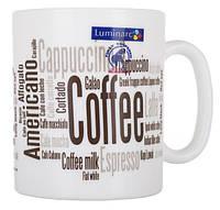 Чашка Luminarc ESSENCE COFFEEPEDIA 320мл