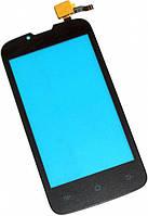 Сенсор (тач скрин) FLY IQ4407 Era Nano 7 black (оригинал)