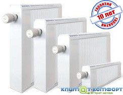 Медно-алюминиевый радиатор ТЕРМИЯ 50/100 РН (с нижним подключением)