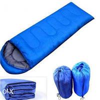 Спальный мешок спальник одеяло с капюшоном туристический рыбацкий военныйдо -8