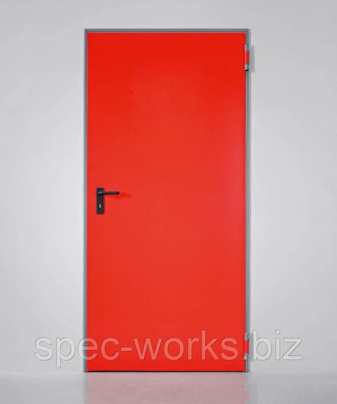 Противопожарная одностворчатая дверь Univer 1000 x 2150