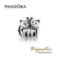 Pandora шарм МИЛЫЕ КОТЯТА №791119 серебро 925 Пандора оригинал