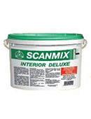 Scanmix Interior Deluxe вологостійка внутрішня фарба, 5 л