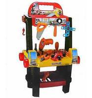 """Детский Набор инструментов """"Центр технического обслуживания"""" 2 в 1, на батарейках, 50+ деталей, 661-68"""