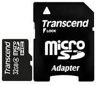 Карта памяти Transcend microSDHC 32 GB Class 4 (+ SD 2.0 адаптер)