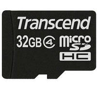 Карта памяти Transcend microSDHC 32 GB Class 4
