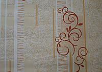 Обои на стену, виниловые, 729-02, бумажная основа, 0.53*10м