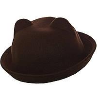 Женская шляпка с ушками