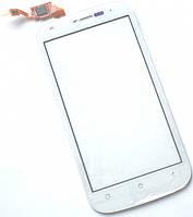 Сенсор (тач скрин) FLY IQ443 Trend white (оригинал)