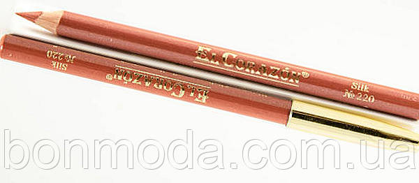 Карандаш для губ EL Corazon № 220 Silk
