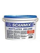Scanmix Mattlatex Deluxe латексна фарба, 5 л