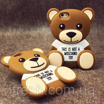 Медведь MOSCHINO для iPhone 7