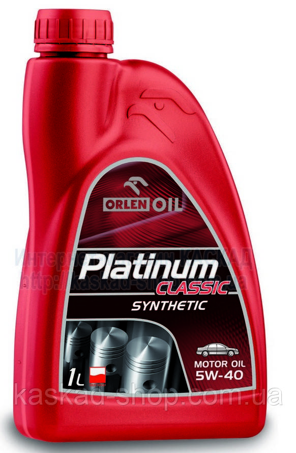Масло моторне Platinum Classic Synthetic 5W-40 1L