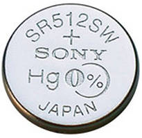 Батарейка Sony SR512SWN