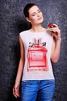 """Футболка женская летняя с модным принтом """"Miss Dior"""""""