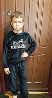 Велюровый костюм для мальчиков Hermes  Синий размеры: 116,128,134