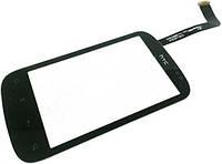 Сенсор (тач скрин) HTC A310e Explorer black (оригинал)