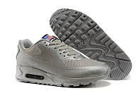 Кроссовки мужские Nike Air Max 90 Hyperfuse Ash Grey USA (в стиле найк аир макс 90)