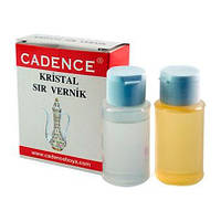 Эпоксидная смола двухкомпонентная, прозрачная Cadence Crystal Varnish Set, 40+40мл, CA229