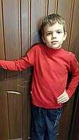 Гольф для мальчика стойка Алый 134,140,146,152 роста