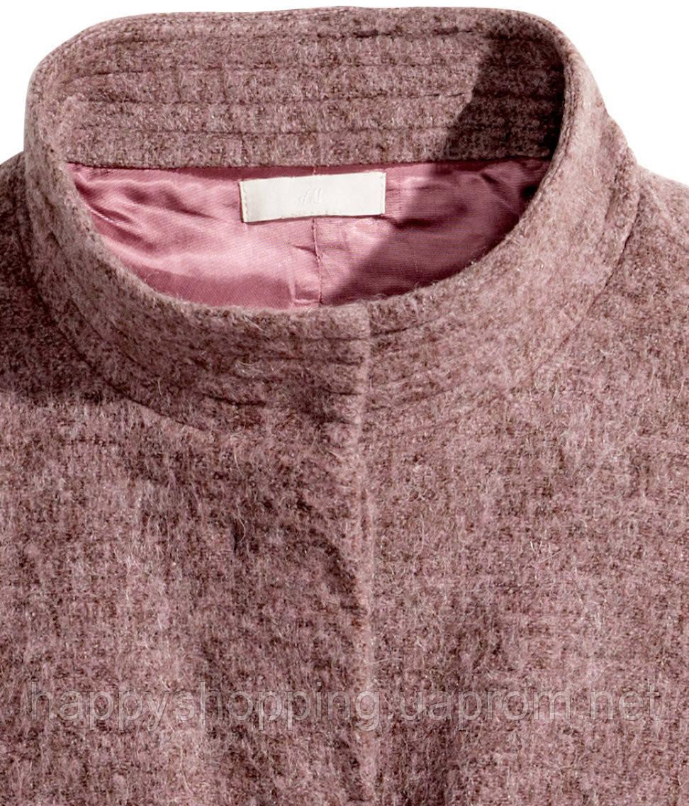258aeabac6f Женское брендовое пальто свободного фасона с карманами H M