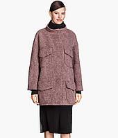 Женское брендовое пальто свободного фасона с карманами  H&M, фото 1