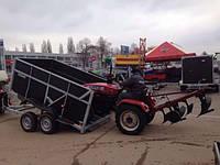 Прицеп самосвал для перевозки сельхозтехники! 2 тормозных торсиона! , фото 1