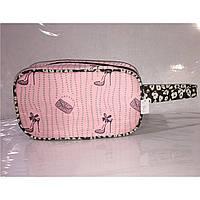 Косметичка женская туфелька с ручкой, дорожная, фото 1