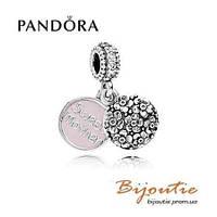 Pandora шарм ДОРОГАЯ МАМА  791285CZ серебро 925 Пандора  оригинал
