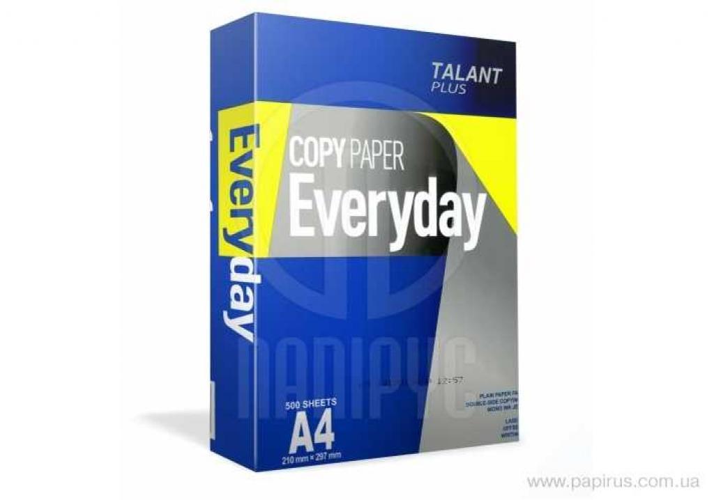 Офисная бумага  EVERYDAY Talant Plus