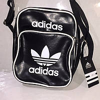 Сумка Adidas 3312 черная мужская