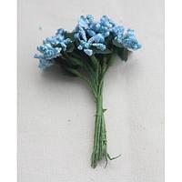 Сложные тычинки голубые