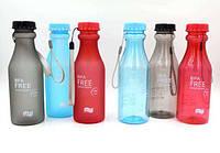 Бутылочка Bpa Free 550 мл, бутылка для воды bpa free, стильная бутылочка для жидкости