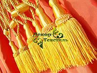 Декоративные кисти для штор, Жёлтый (пара)