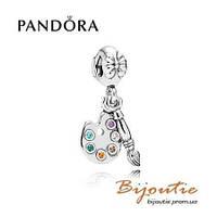 Pandora шарм ПАЛИТРА ХУДОЖНИКА 791268CZMX серебро 925 Пандора  оригинал