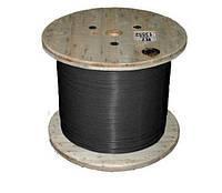 Кабель нагревательный одножильный отрезной TXLP 2,5 OHM/M BLACK Nexans